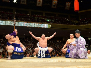 The rituals of the sumo tournament