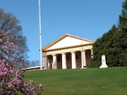 Custis-Lee Mansion located in Arlington National Cemetery in Virginia