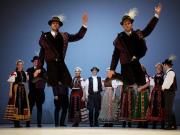 folk ensemble, Danube Palace, budapest, hungary