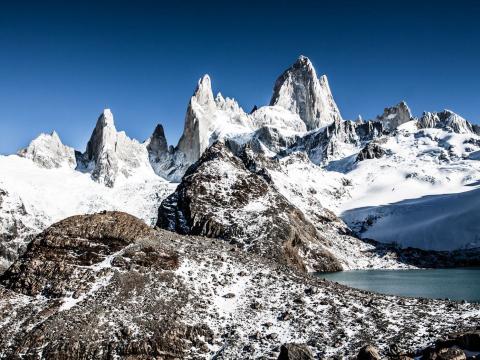 ロス・グラシアレス氷河ツアー