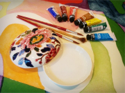 Faience painting class 4
