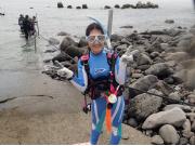 海で体験ダイビング04