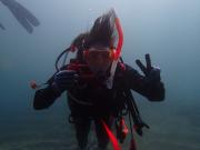 海で体験ダイビング02