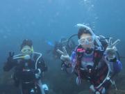 海で体験ダイビング03