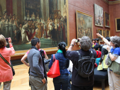 Louvre_Coronation of Napoleon_Group 2