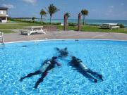 体験ダイビング)プール講習