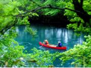 支笏湖カヌー7