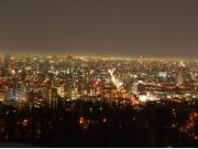 札幌夜景スポット巡り_旭山記念公園2