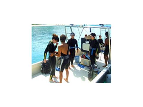 ボート体験ダイビング4