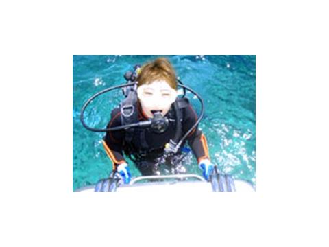ボート体験ダイビング12