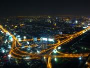 BangkokSkyRestaurant_夜景