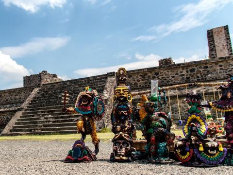メキシコシティ発 観光ツアー