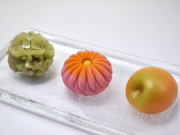 A selection of elegant and fresh Japanese sweets
