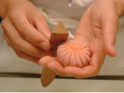 和菓子作り体験教室01 菊製作1