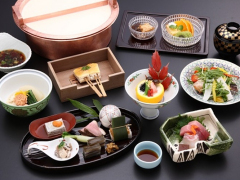 Yuba Kaiseki Course (Actual product may vary)