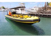 かわいい黄色いボート