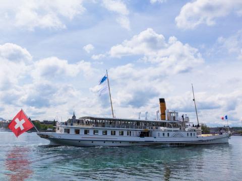 レマン湖観光