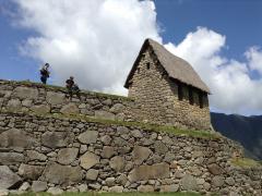 マチュピチュ遺跡 貯蔵庫