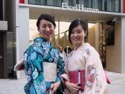 京都フォーシーズン キモノで銀ブラ02