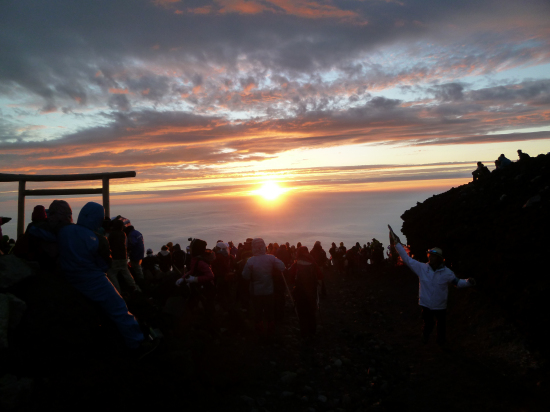 Mt Fuji Climbing Tour Sunrise