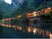 Sunset from the River Terrace Restaurant