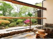 品の木 【本棟】1階露天風呂付客室例