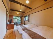 品の木 【本棟】2階露天風呂付ツイン和室