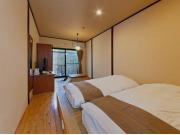 品の木 【本棟】1階露天風呂付ツイン和室2