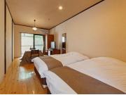 品の木 【本棟】1階露天風呂付ツイン和室