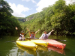 Kayaking through mangroves in Okinawa