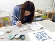 うづまこ陶芸教室 タイル03