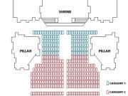 Organ concert seating plan