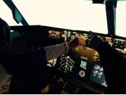 ラグジュアリーフライト フライトシミュレーター体験02