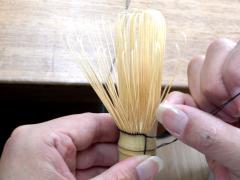 翠華園 茶杓作り体験01