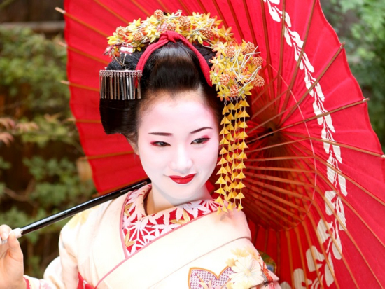 Authentic Maiko Or Geisha Makeover And Photo Shoot