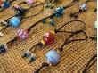 Handmade glass bead hairbands and bracelets