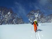 バックカントリースキー1日コース03