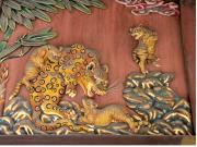 秩父神社 子育ての虎