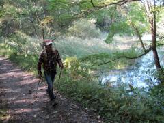森林ノルディックウォーキング 2