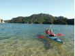 Kayaking on the clear seas near Nagasaki