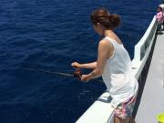 Deep sea fishing in Okinawa