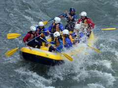Rafting on the Tenryu River