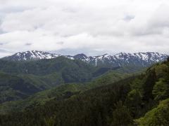 二ッ森より滝川源流・主稜線