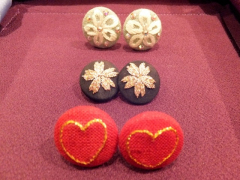 Handmade embroidered accessories