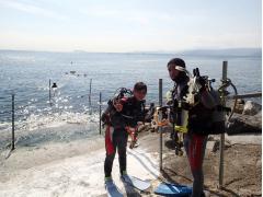 海守匠 体験ダイビング110