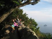 絶景の天狗倉山と熊野古道馬越峠1