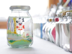 鯉のぼりのガラスオーナメント