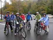 支笏湖MTBサイクリング3