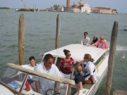 Motor-Launch Ride on Grand Canal Venice