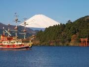 lake ashi pirate boat